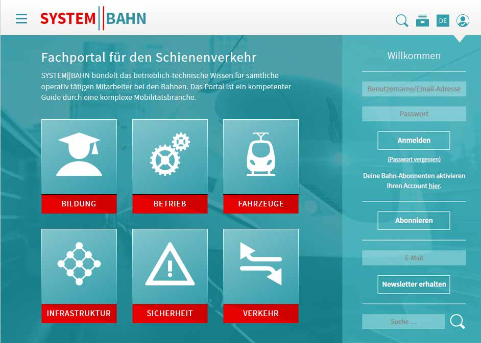 System||Bahn - Home