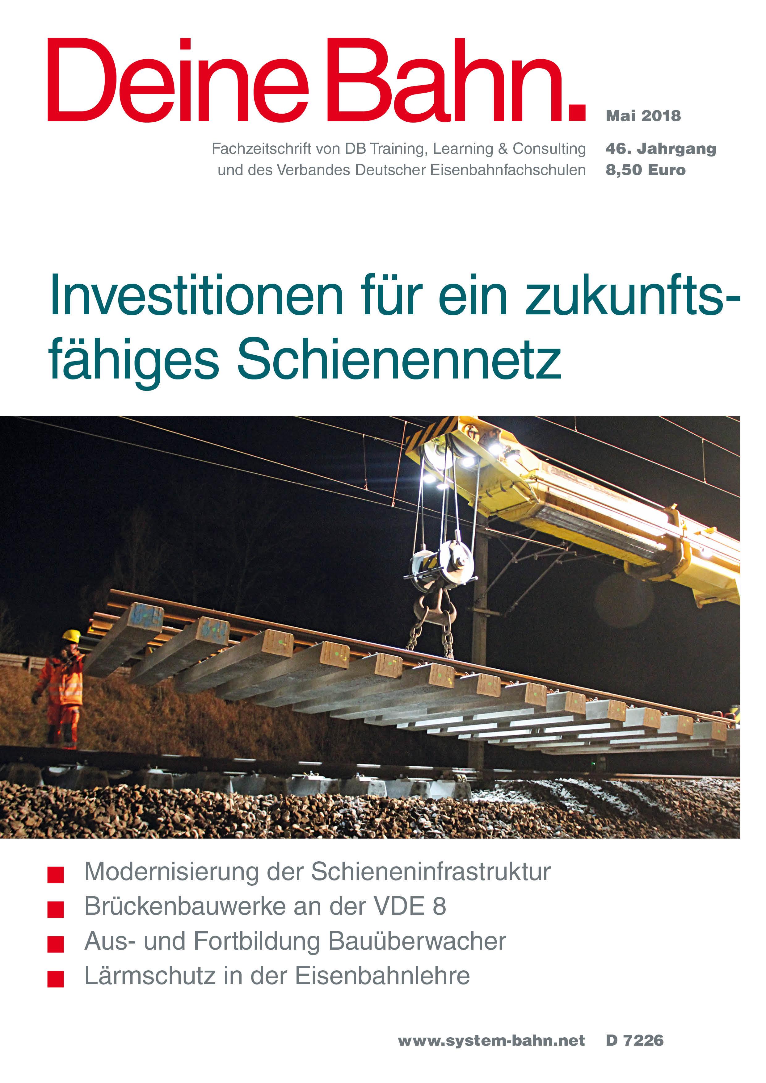 Archiv der Fachzeitschrift Deine Bahn - Fachportal SYSTEM||BAHN
