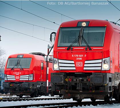 Vectron Lokomotiven von DB Cargo