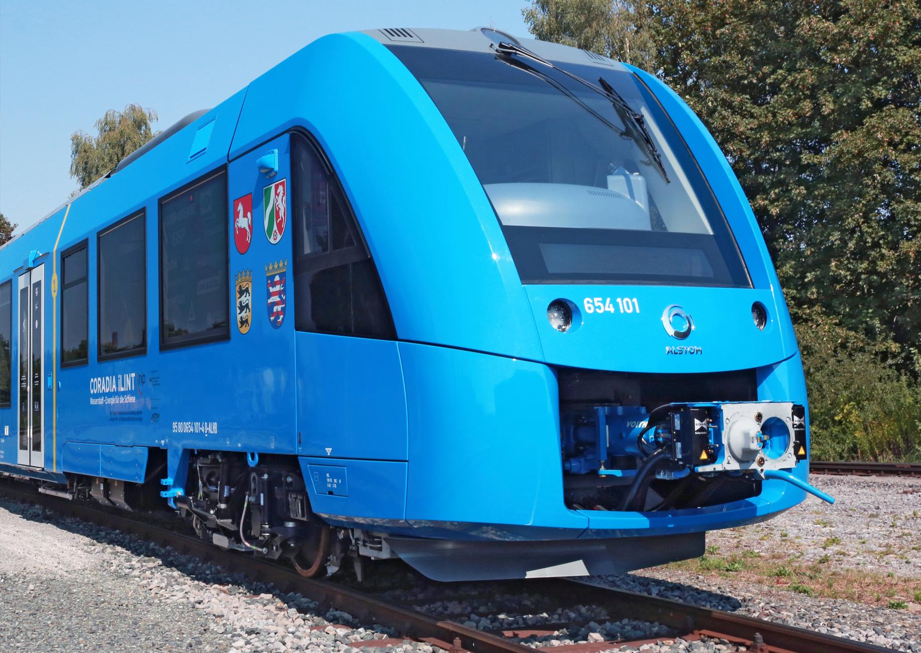 Brennstoffzellenzug coradia iLint von Alstom