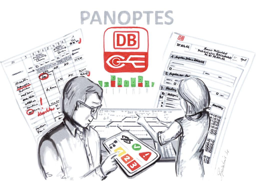 illustration zum system panoptes
