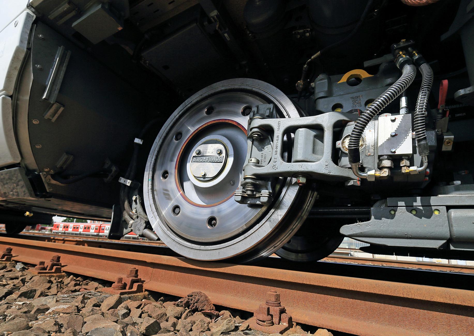 ICE 4 - Baureihe 412 - Detailaufnahme Bremse