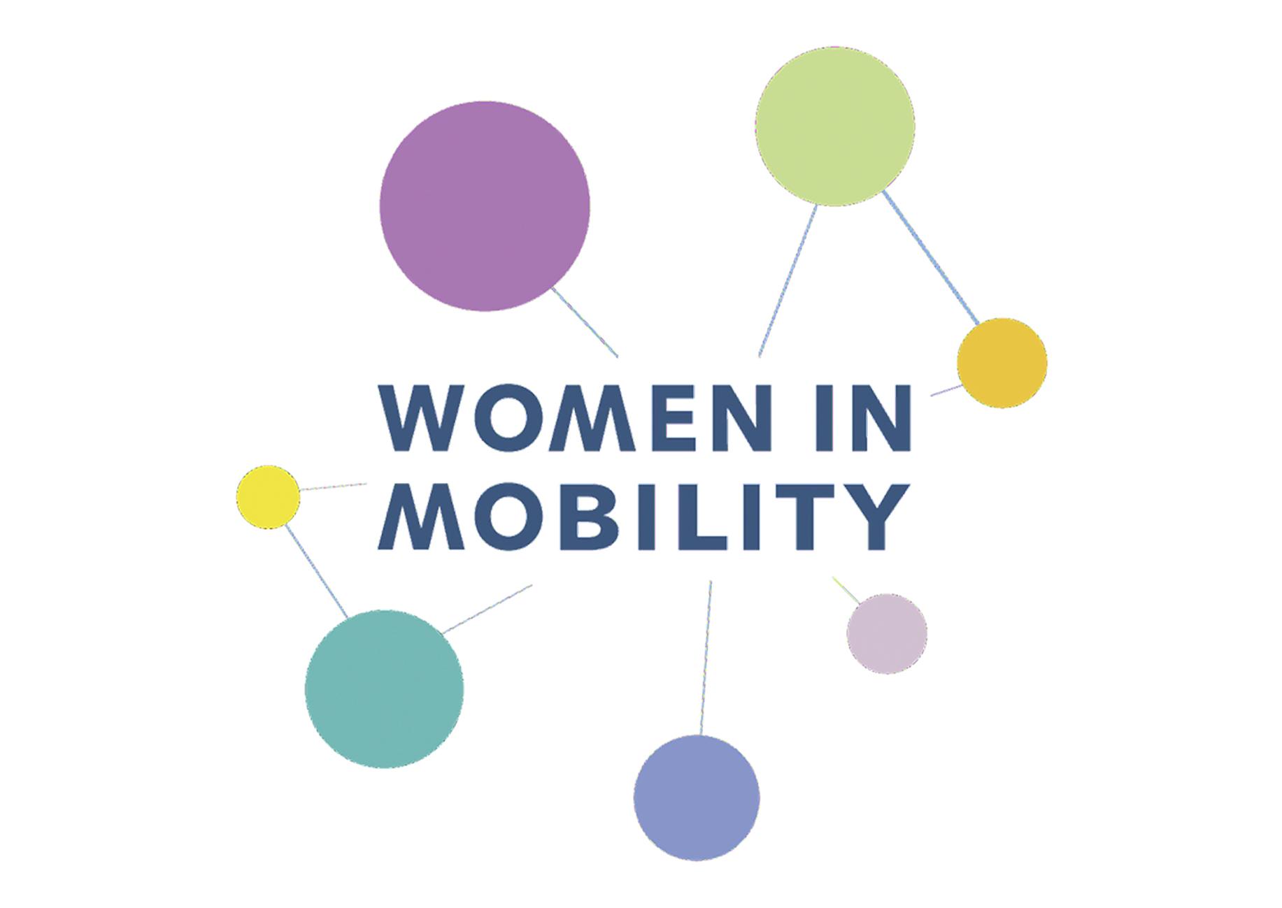 logo des frauen-netzwerks women in mobility