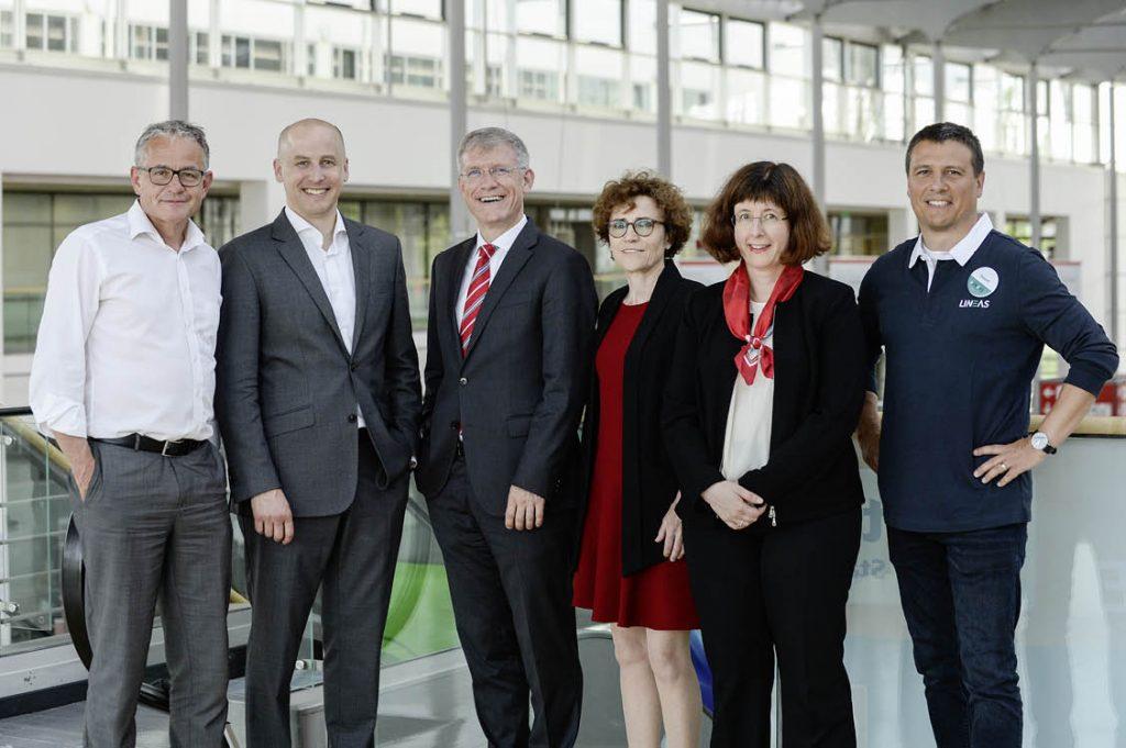 Gruppenfoto CEOs der Xrail-Partner