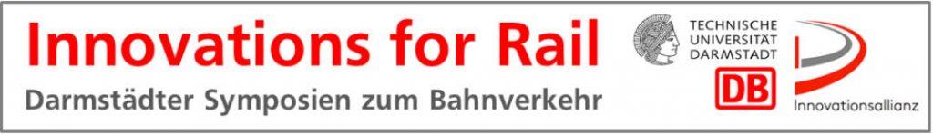 Banner mit Logo_Innovations for Rail der TU Darmstadt