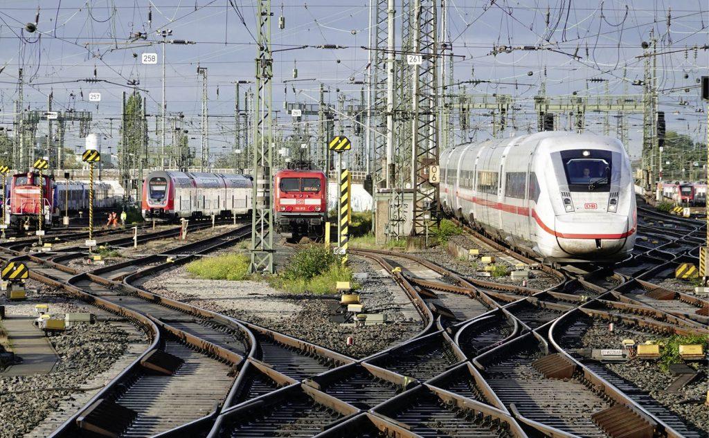 Gleisvorfeld Frankfurt Hauptbahnhof