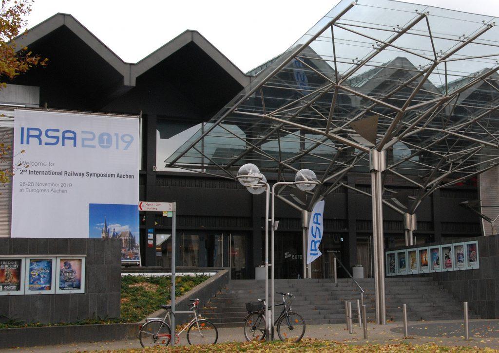 Eingang zur Veranstaltung in der RWTH Aachen