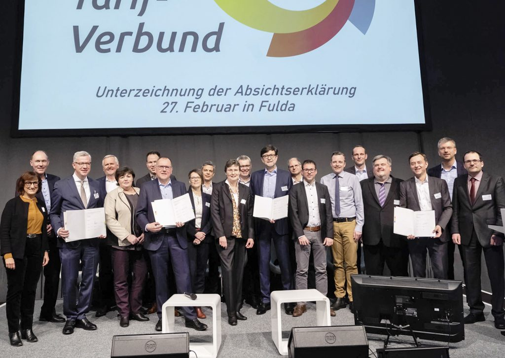 Gruppenfoto auf der BAG-SPNV-Tagung in Fulda