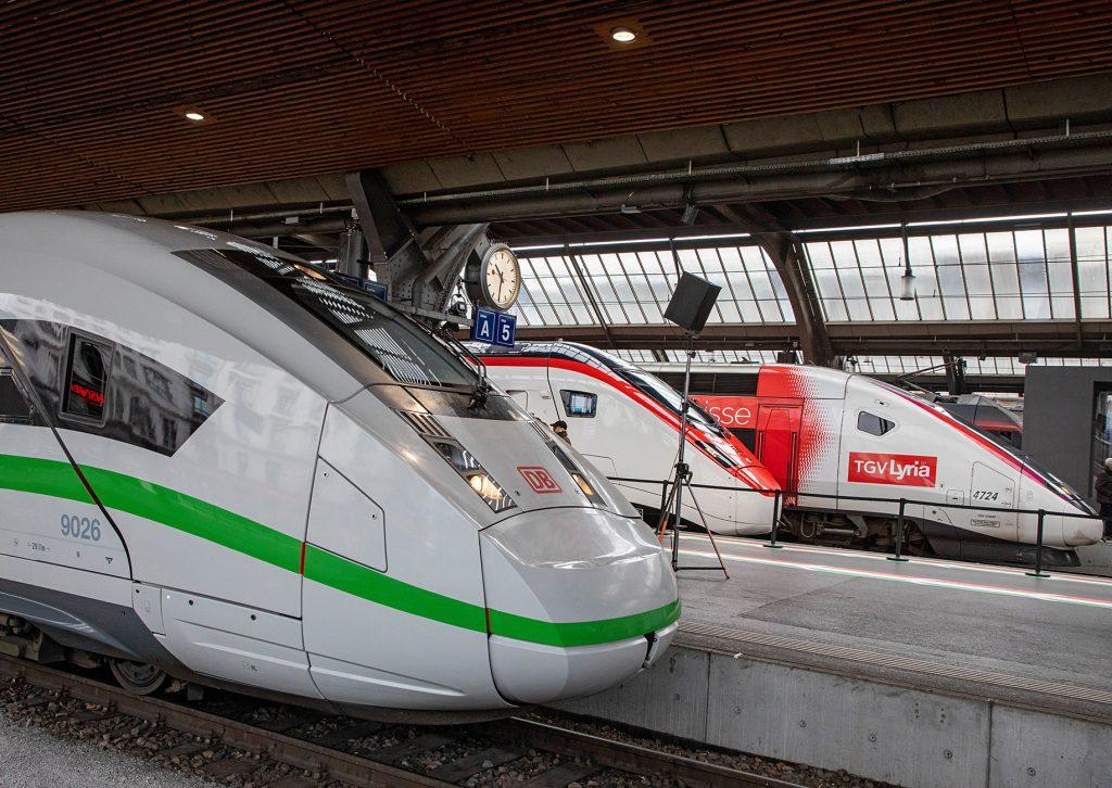 ICE und TGV in Zürich