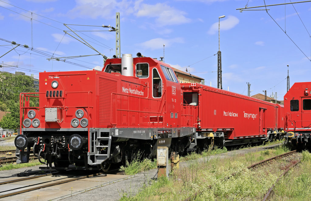 rote Lokomotive